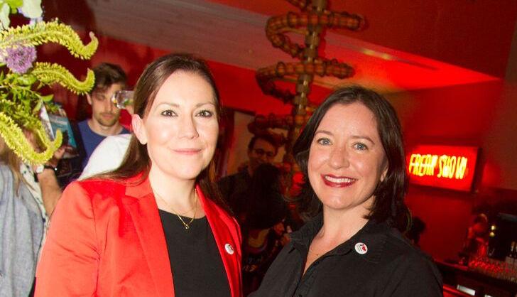 IFL board members Claire Turvey and Angela Sammon