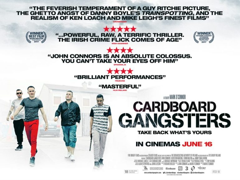 Cardboard Gangsters Quad Poster