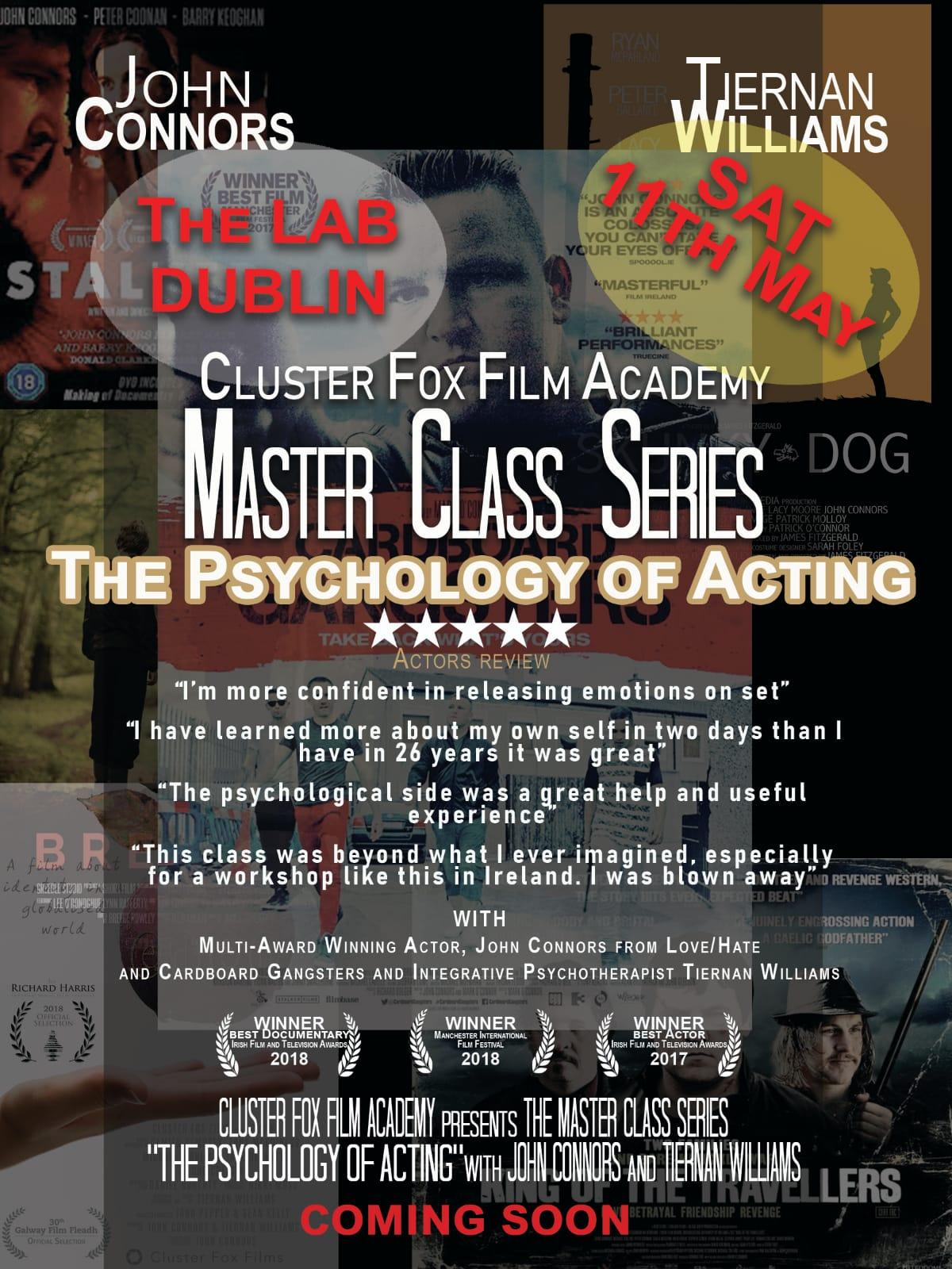John Connors Master Class