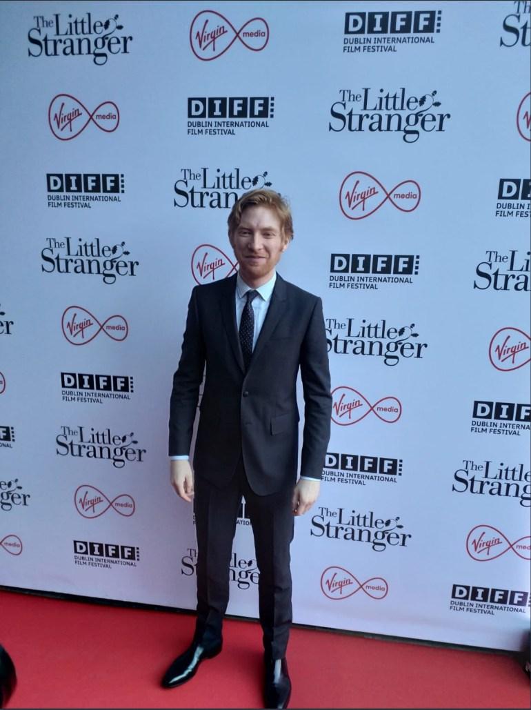 Domhnall Gleeson at the European Premiere of The Little Stranger in Light House Cinema