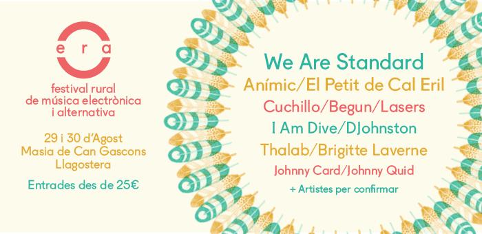 Festival'ERA 2014 desvela parte del cartel!