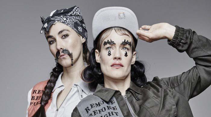 Menos de una semana para que arranque la gira de CocoRosie en Barcelona