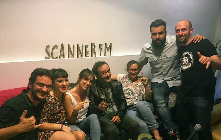 Love of Lesbian Indie Lovers scannerFM 9