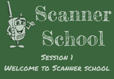 Welcome to the first Scanner School Podcast