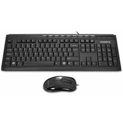 Gigabyte KM6150 Multimedia Keyboard & Mouse Bundle