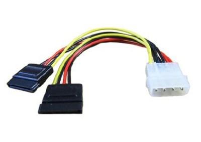 Generic Molex > 2x SATA Power Adaptor