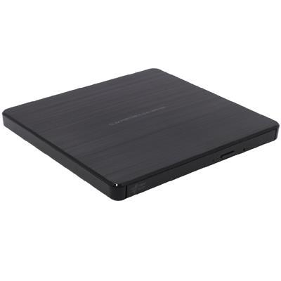 LG Slim 8x DVD-RW USB External Optical Disk Drive Black