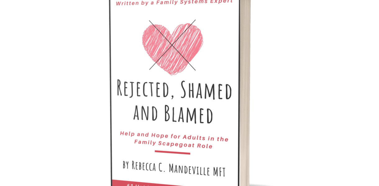 Rejected Shamed and Blamed Scapegoat Book Mandeville