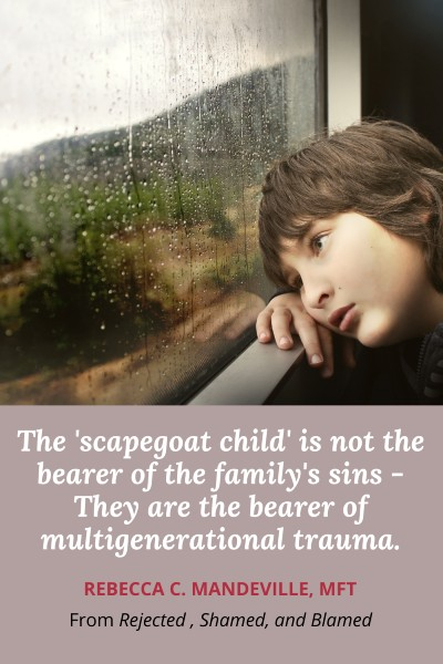 family scapegoat and intergenerational trauma