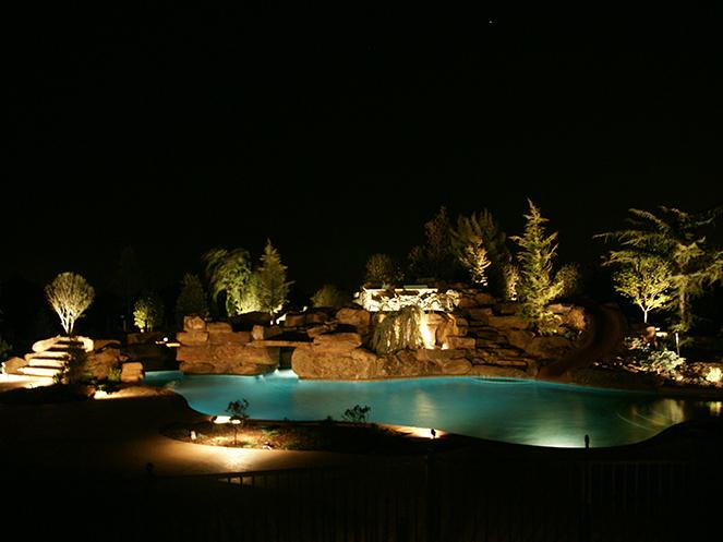 landscape lighting okc lighting