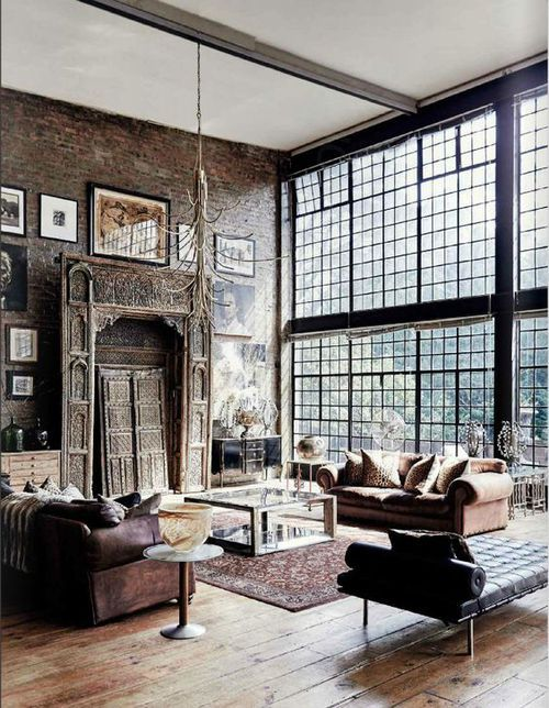 Apartment Interior Design Vintage