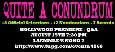Quite A Conundrum Screening Announcement