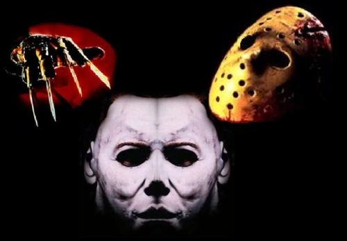 Freddy's Glove, Jason's Hockey Mask & Michael's Mask