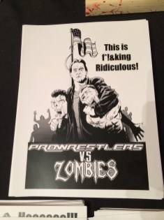 Pro Wrestlers Vs. Zombies Roddy Piper Print
