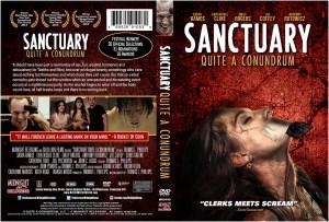 Sanctuary; Quite A Conundrum DVD Cover