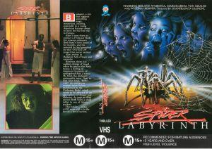 Spider Labyrinth poster