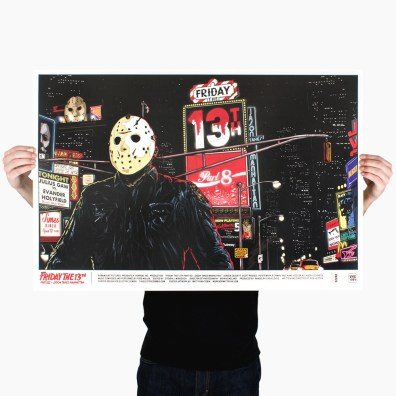 Electric Zombie Friday The 13th Jason Takes Manhattan