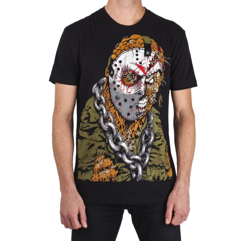 Electric Zombie Friday The 13th Jason Tshirt 3
