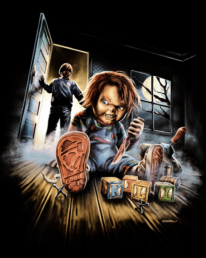 Chucky Fright Rags iphone case
