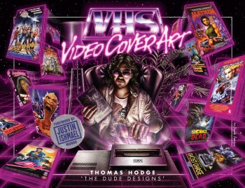 VHS VIDEO ART Cover The Dude Designs