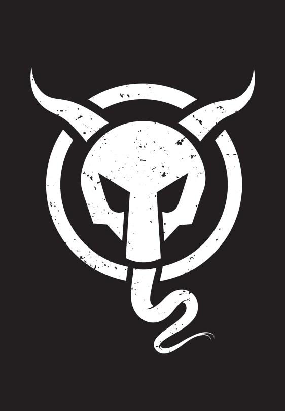 Krampus Logo Distressed