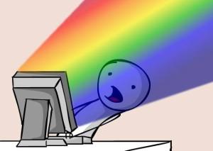 Facebook Rainbow Explosion