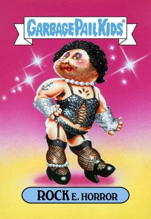 Garbage Pail Kids - Rock E. Horror