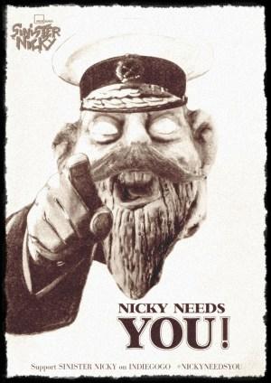 Sinister Nicky Needs You