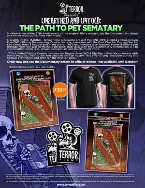 The Path to Pet Sematary Sell Sheet