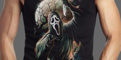 Fright Rags - Ghost Face V2 Tank Top