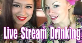 Scream Queen Stream - Live Stream Drinking