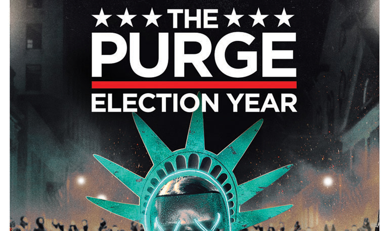 The Purge: Election Year Blu-Ray & Digital HD