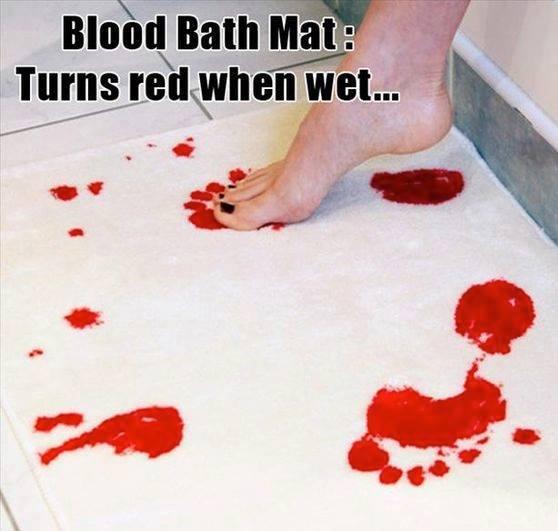 My New Bath Mat