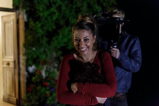 Blood Money Sabrina Hansen Behind Scenes
