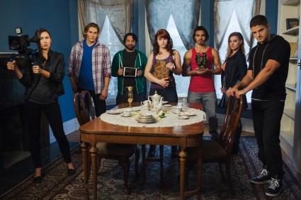 Principal Cast of Reel Nightmare at Goodwin Manor