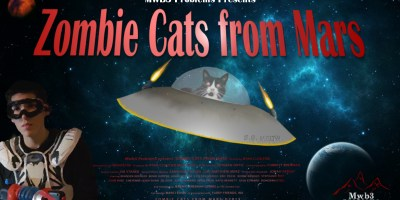 Zombie Cats From Mars - Horizon Poster