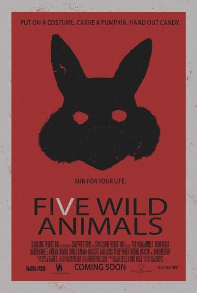 Five Wild Animals poster