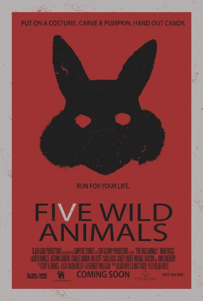 Five Wild Animals poster