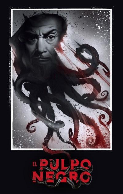 El Pulpo Negro Poster
