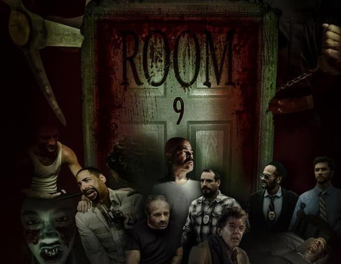Official Poster: Room 9 Starring Kane Hodder & Michael Berryman