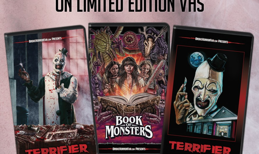 Terrifier and Book of Monsters – Limited Edition VHS