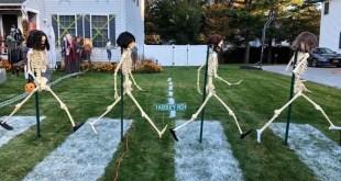 Beatles Halloween Display