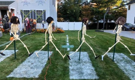 Beatles Halloween Display