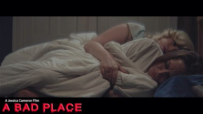 A Bad Place _ Still _ Dir. Jessica Cameron ( Jessica Cameron and Heather Dorff in bed)