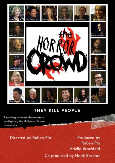 THE HORROR CROWD (Poster)