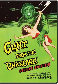 Giant From the Unknown DVD BOX ART