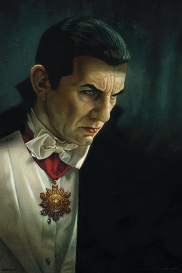 Dracula Greg Staples Art Print