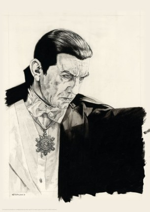 Dracula Greg Staples Portrait