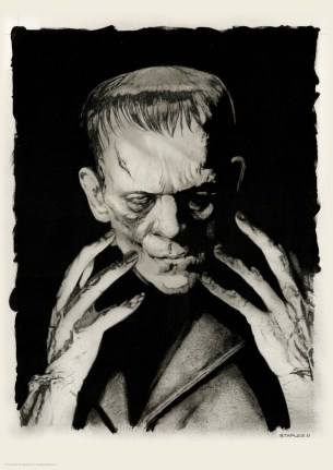 Frankenstein Greg Staples Portrait