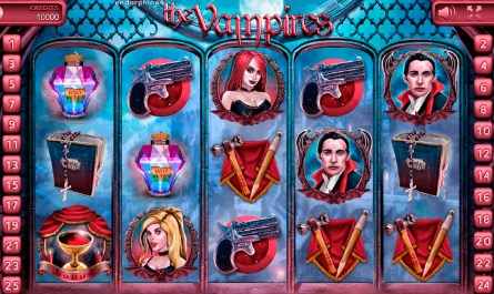 The Vampires Slot Machine Feature